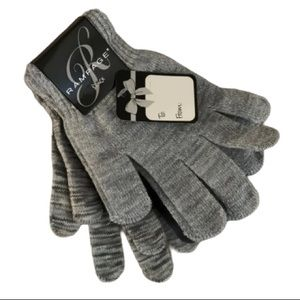 Rampage 3 pack glove gift set one size gray